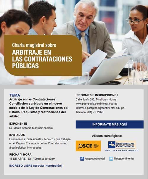 arbitraje contratacion publica conferencia