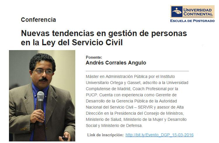 conferencia servicio civil